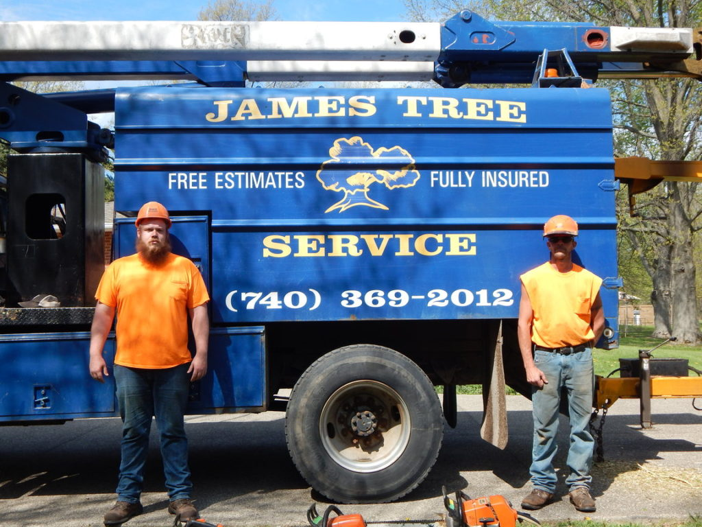 James Tree Service of Delaware, Ohio.